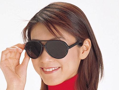 Перфорационные очки для коррекции зрения